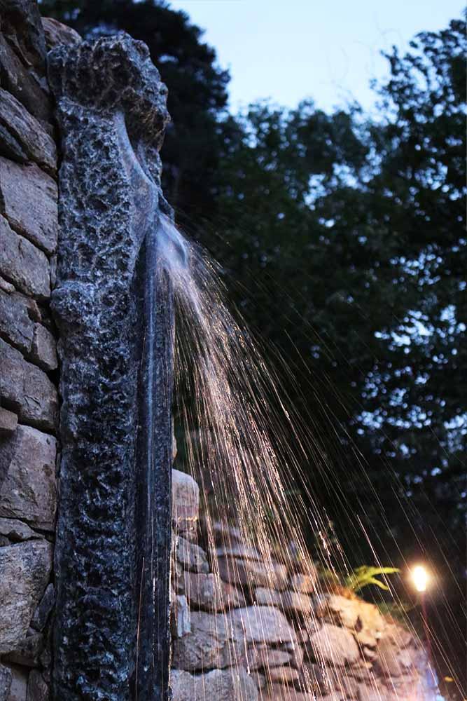 Calidarium ResAlbert doccia esterna
